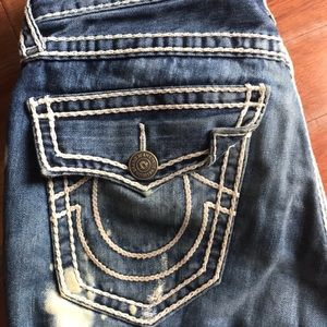 Mens Size 31 True Religion Jeans Preowned